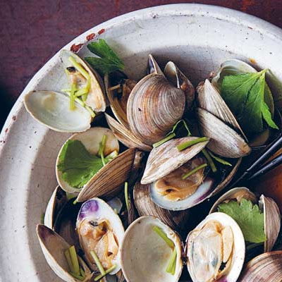 Grilled Littleneck Clams