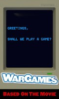 Screenshot of WarGames: WOPR