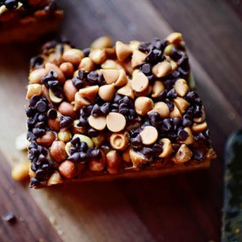 Chocolate Butterscotch Caramel Bars
