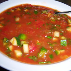 Spicy Herbed Summer Gazpacho