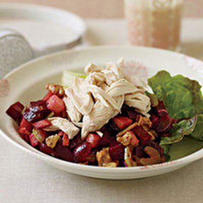 Red Waldorf Salad