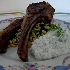 Rosemary and Garlic Grilled Lamb Chops