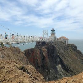Point Bonita Lighthouse by Diane Clontz - Novices Only Landscapes ( pointbonita, california coast )