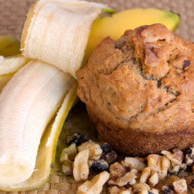 Tuesday Morning Banana Muffins