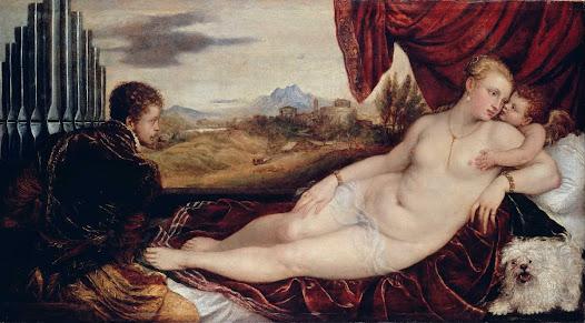 Tiziano, Venere e organista