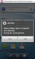 Screenshot of Aloha: hang with friends
