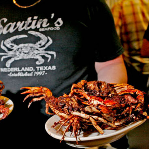 "Sartin's ""Barbecued"" Crabs"