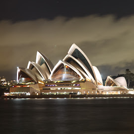 opera house  by Elbert Limanto - Buildings & Architecture Public & Historical ( canon, night, opera house, sydney )