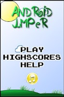 Screenshot of Android jumper