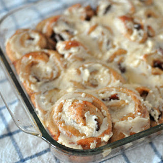 Easy Cinnamon Rolls with Browned Butter Icing