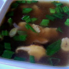 Asian Mushroom Soup - Diabetic Friendly
