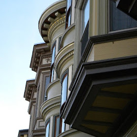 windows  by Arie Barnes - Buildings & Architecture Homes