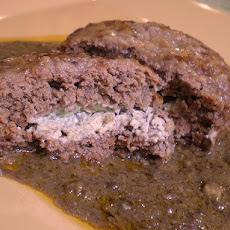 Salisbury Steak Surprise With Ground Mushroom Gravy