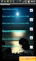 Screenshot of Sleep Mode