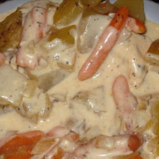 Country Chicken and Vegetables (Crock Pot)