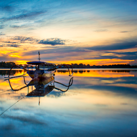 .:: burning dawn ::. by Setyawan B. Prasodjo - Transportation Boats