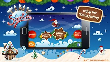 Screenshot of Tiny Santa - Xmas Hills - Pro