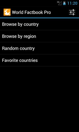 World Factbook Pro