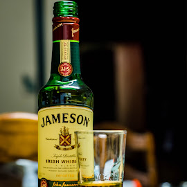 Green by David Moss - Food & Drink Alcohol & Drinks ( jameson, whiskey, alcohol, green, irish, shot,  )