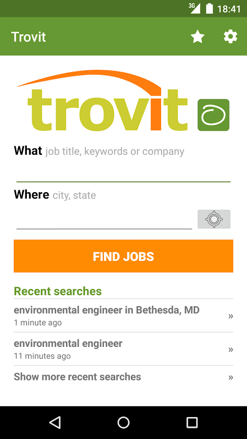 Find job offers - Trovit Jobs Screenshot 0