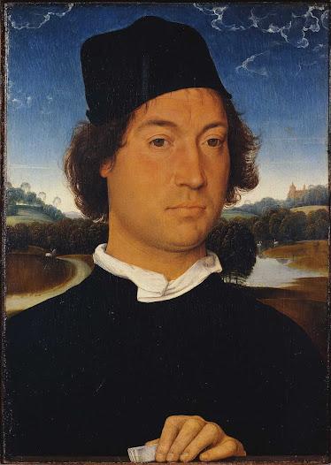 Memling Hans, Ritratto d'uomo