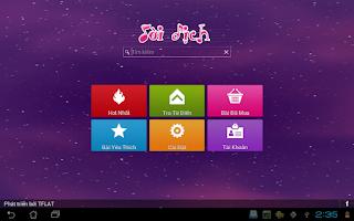 Screenshot of Hoc Tieng Anh Qua Bai Hat