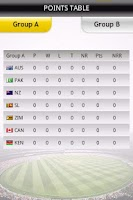 Screenshot of World Cup Cricket - Live Score