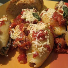 Cheesy Stuffed Shells