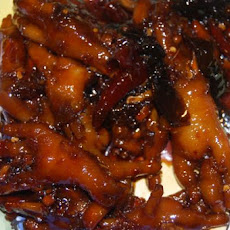 Ginger Glazed Chicken Feet With Brown Sugar and Soy
