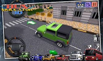 Screenshot of Bus Simulator 3D - free games