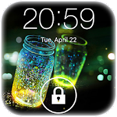 Fireflies lockscreen APK Descargar