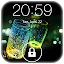 Fireflies lockscreen APK for Nokia