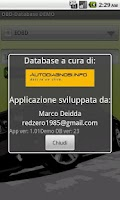 Screenshot of OBD-Database Italiano DEMO