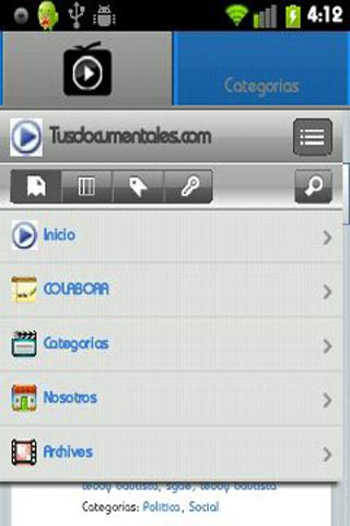 【免費媒體與影片App】Tusdocumentales TV-APP點子