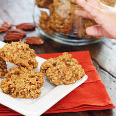 Pumpkin Spiced Oatmeal Pecan Cookies
