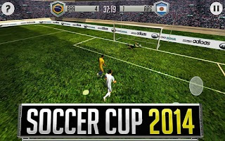 Screenshot of Soccer Cup 2014 / Football Cup