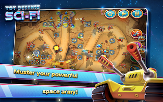 Screenshot of Toy Defense 4: Sci-Fi TD Free
