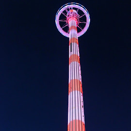TOP O' TEXAS TOWER by Fred Regalado - City,  Street & Park  Amusement Parks