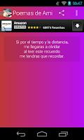 Screenshot of Poemas de Amistad
