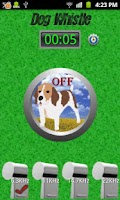 Screenshot of Ultrasonic Dog Whistle