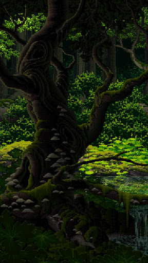Live Wallpaper - Deep Forest