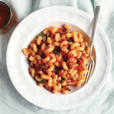 Pasta and Bacon in Smoky Tomato Sauce