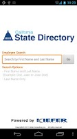 Screenshot of CA State Directory