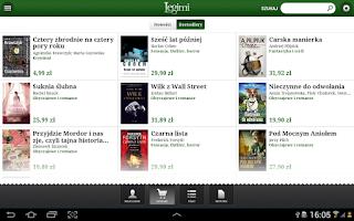 Screenshot of Legimi - ebooki bez limitów