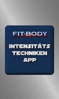 Screenshot of Fitbody Intensitätstechniken