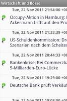 Screenshot of Wirtschaft und Börse