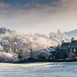 Hoar Frost, Little Langdale, Cumbria, England by Simon Harding - Landscapes Weather ( walking, langdale, cumbria, frost, simon harding, little, little langdale, lake, lake district, december, england, hoar, winter, cold, d800, nikon, district, wintry, english )