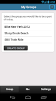 Screenshot of Bike App