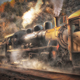 Backwards Pull by Nickel Plate Photographics - Transportation Trains