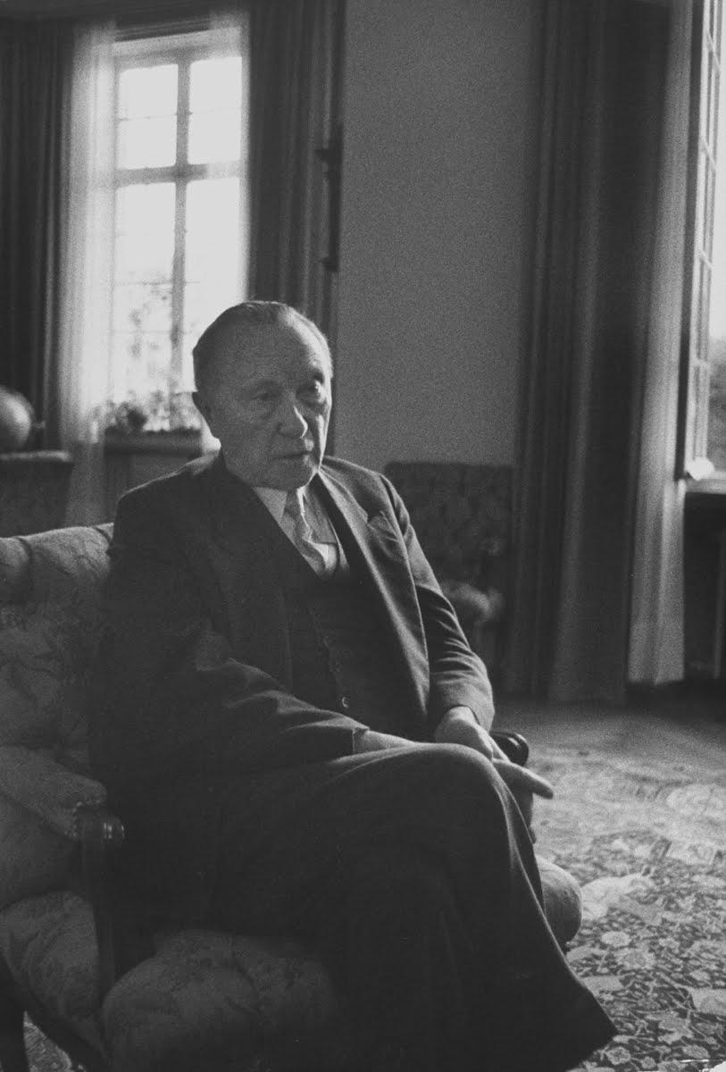 Konrad Adenauer, 1959.